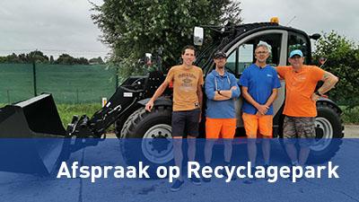 Afspraak maken met het Recyclagepark