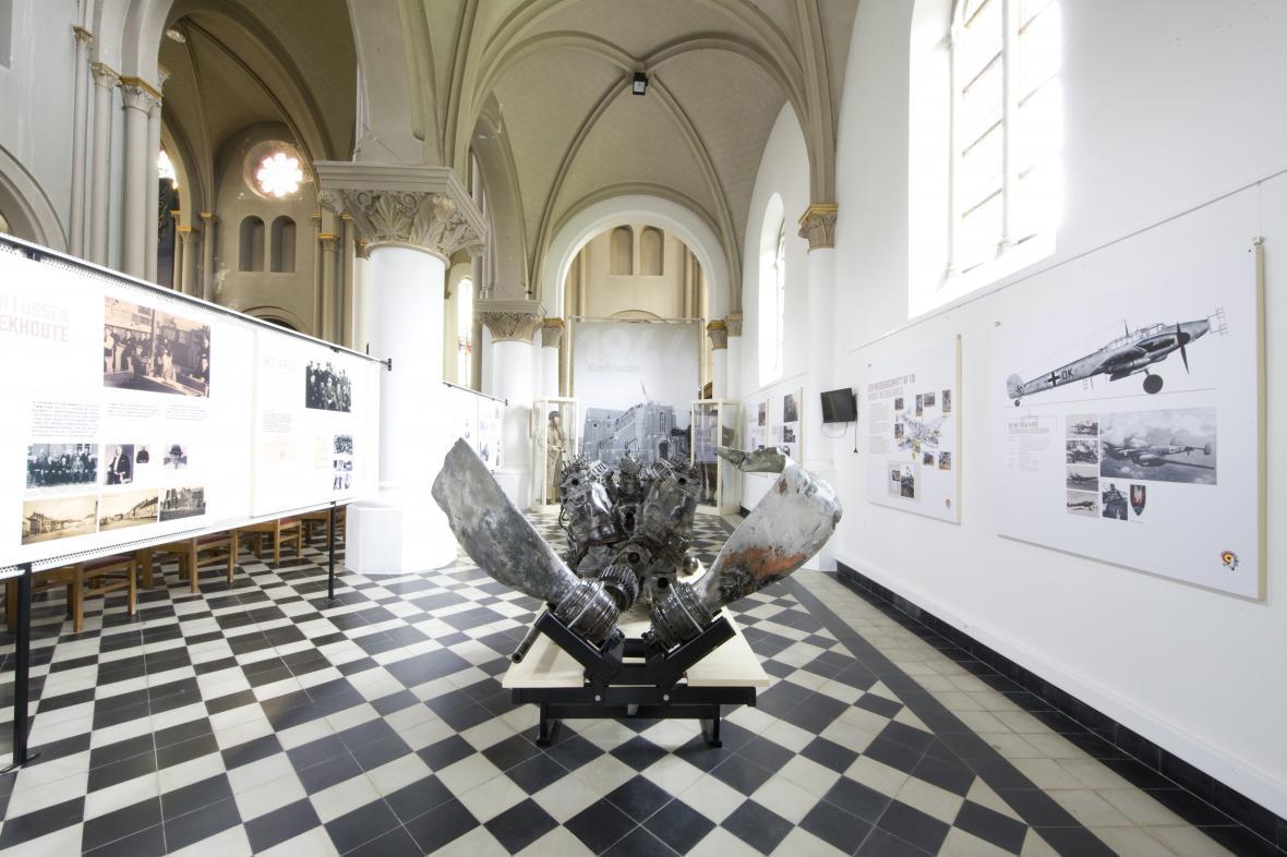Tentoonstelling kerk Boekhoute