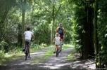 copyright toerisme Oost-Vlaanderen - David Samyn - fietsers aan de kreken2