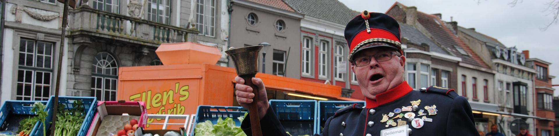 Jan De Belleman - Jan De Belleman op de markt