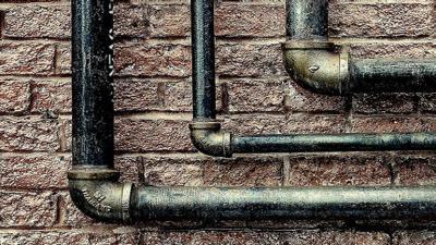 Breuken in de waterleiding -