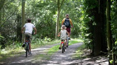 Grensroute volgt  traject 'Dodendraad' - Fietsen