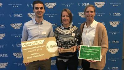 Assenede is sportiefste middelgrote gemeente van Oost-Vlaanderen - Sporters Beleven Meer Award