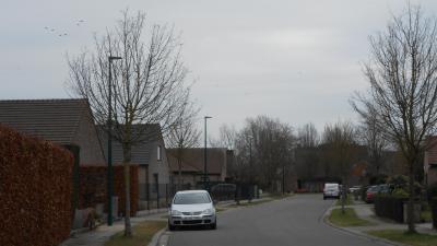 Nieuwe Led-verlichting in Moestuinstraat en op Diederikplein - Moestuinstraat.