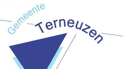 Westkade bij Rosier in Sas van Gent tijdelijk afgesloten - Logo gemeente Terneuzen.
