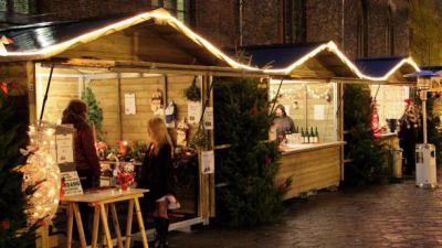 Kerstmarkt op 7 december. -
