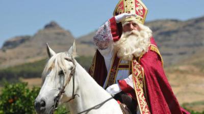 Sinterklaas komt naar Bass'Cul in Bassevelde - Sinterklaas