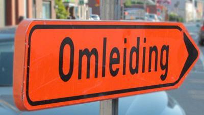 Assenedesteenweg tijdelijk afgesloten voor wegeniswerken in Zelzate - Omleiding