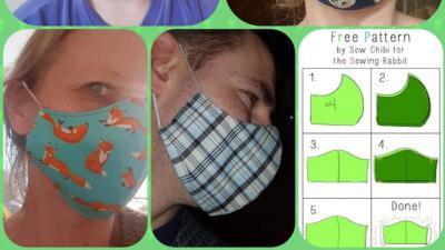 IBO maakt mondmaskers -