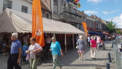 Geen avondmarkt in Bassevelde op 22 juni -