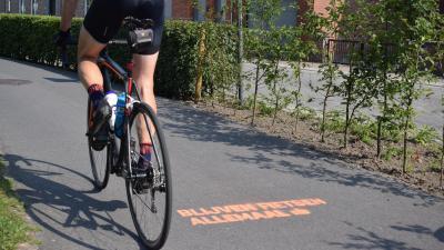 Assenede moedigt fietsers aan te blijven fietsen - Blijven fietsen allemaal.