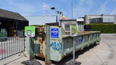 Opnieuw asbest toegelaten op het recyclagepark. -