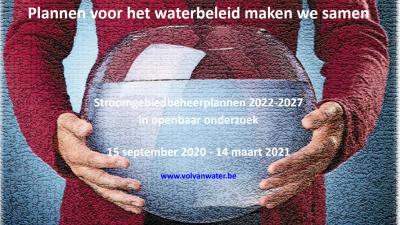Openbaar onderzoek - Waterbeheerplanning in Vlaanderen -
