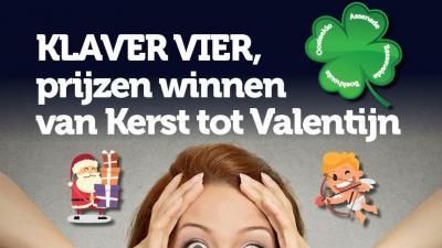 Klaver Vier, da's prijzen winnen van Kerst tot en met Valentijn - Klaver Vier, da's prijzen sparen van Kerst tot Valentijn