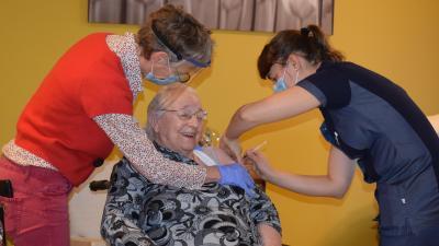 110 bewoners woon- en zorgcentrum Sint-Bernardus -