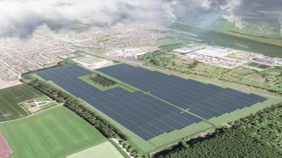 Bouw Shell-zonnepark Sas van Gent-Zuid binnenkort van start -