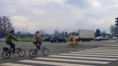 Het Agentschap Wegen en Verkeer bouwt een nieuwe brug over de N49/E34: Start openbaar onderzoek - Oversteek E34