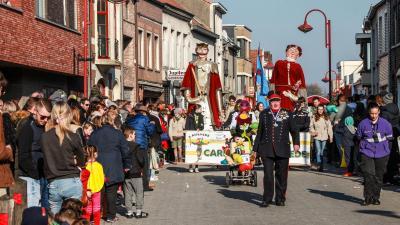 Opnieuw carnavalsstoet op zondagmiddag in 2022. -