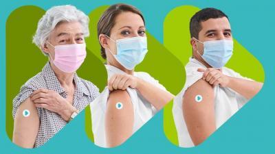 Huisartsen van de Verenigde Meetjeslandse Huisartsenkring laten zich vaccineren - Corona