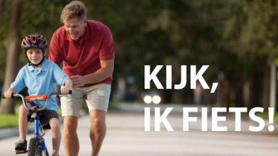 Leer fietsen met 'Kijk, ik fiets!' -