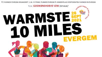 Warmste 10 Miles in Evergem -