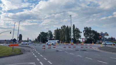 Kruispunt N49/E34 met Nieuwburg tot eind september afgesloten -