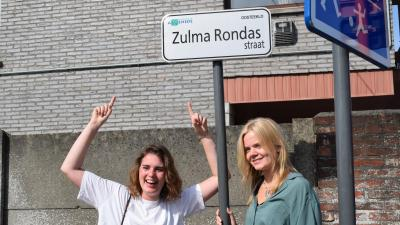 Verzetsheldin Zulma Rondas heeft eigen straat in Oosteeklo - Zulma Rondasstraat