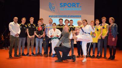 Davy Braekman volgt zichzelf op als sportman van het jaar - Sportlaureaten 2017