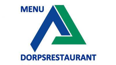 Menu dorpsrestaurant -